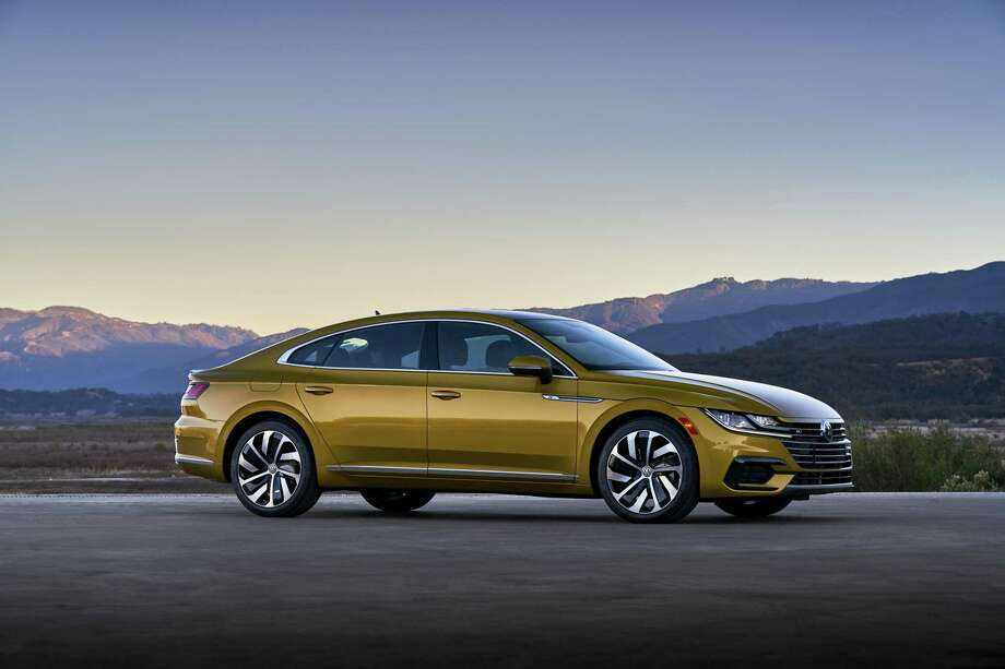 The 2019 Arteon Premium R-Line with all-wheel drive is priced at $47,705. Photo: Volkswagen Pressroom/ Contributed Photo