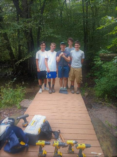 Bethany Boy Scout completes Eagle Scout project