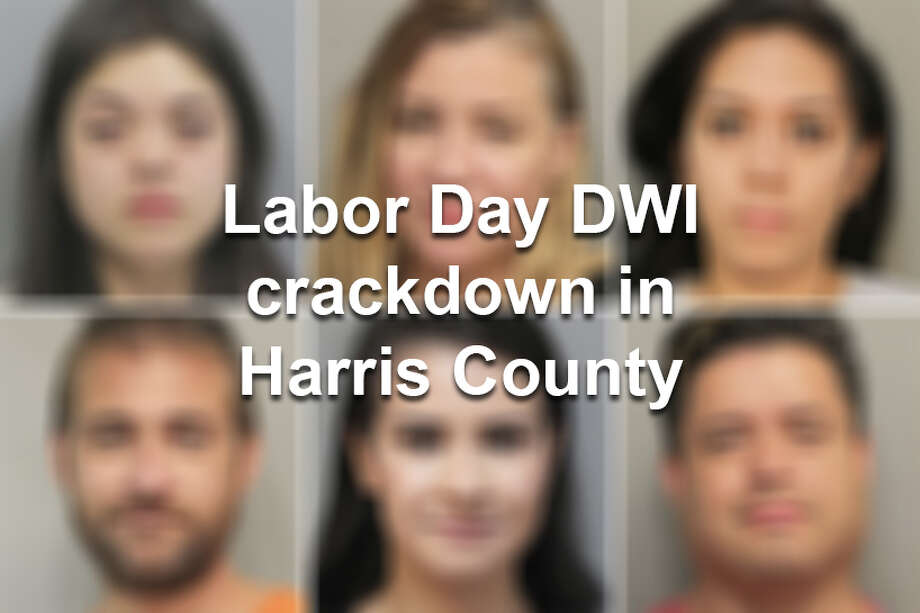 Over Labor Day weekend, police arrested 29 people in Harry County on DWI charges. >> Click through the following gallery to see mugshots of those arrested.   Photo: Houston Chronicle