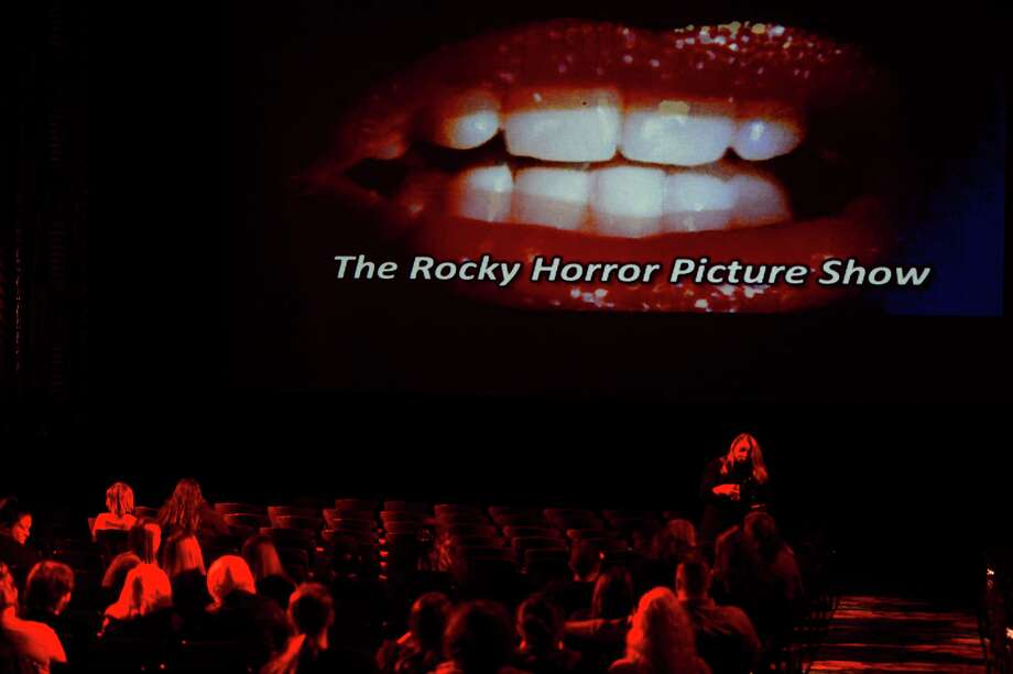 "People start to take their seats before the Jefferson Theatre's showing of the cult classic ""Rocky Horror Picture Show"" on Friday evening. Photo taken Friday 10/28/16 Ryan Pelham/The Enterprise Photo: Ryan Pelham / Ryan Pelham/The Enterprise / ©2016 The Beaumont Enterprise/Ryan Pelham"