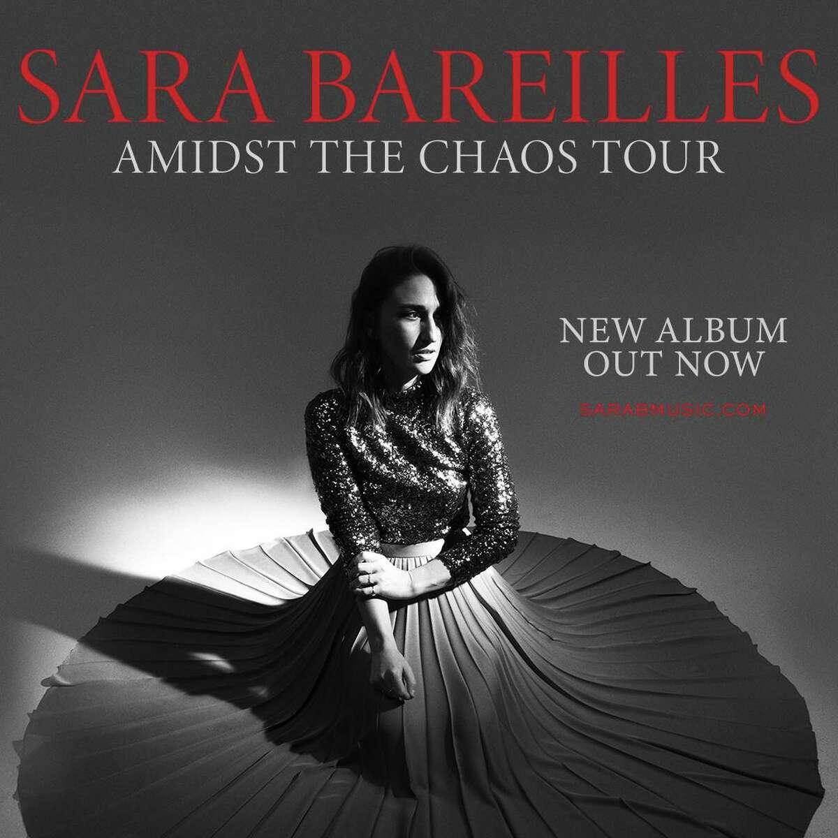 Sara Bareilles plays Mohegan Sun Arena Oct. 12.
