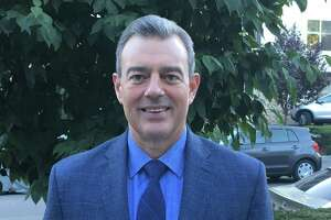 Dave Nanarello is the food services director for the Greenwich Public School on an interim basis while the district searches for a replacement for John Hopkins, who announced his retirement over the summer.