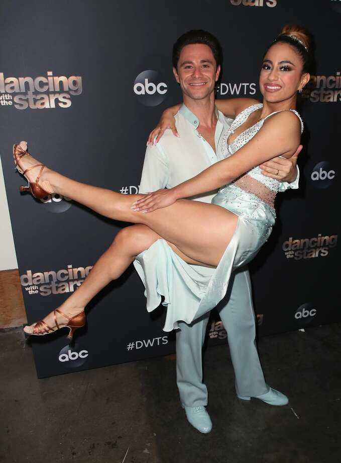 "San Antonio's Ally Brooke shared with a national TV audience how much the ""Queen of Tejano"" means to her, dancing to a classic ballad from Selena during her ""Dancing with the Stars"" performance this week. Photo: David Livingston/Getty Images"