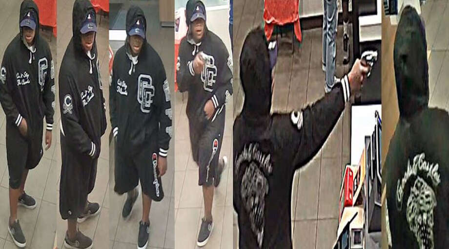 Crime Stoppers and the Houston Police Department's Robbery Division are searching for a suspect in the Friday, Sept. 13 armed robbery of a McDonald's restaurant in northwest Houston. Photo: Houston Police Robbery Division