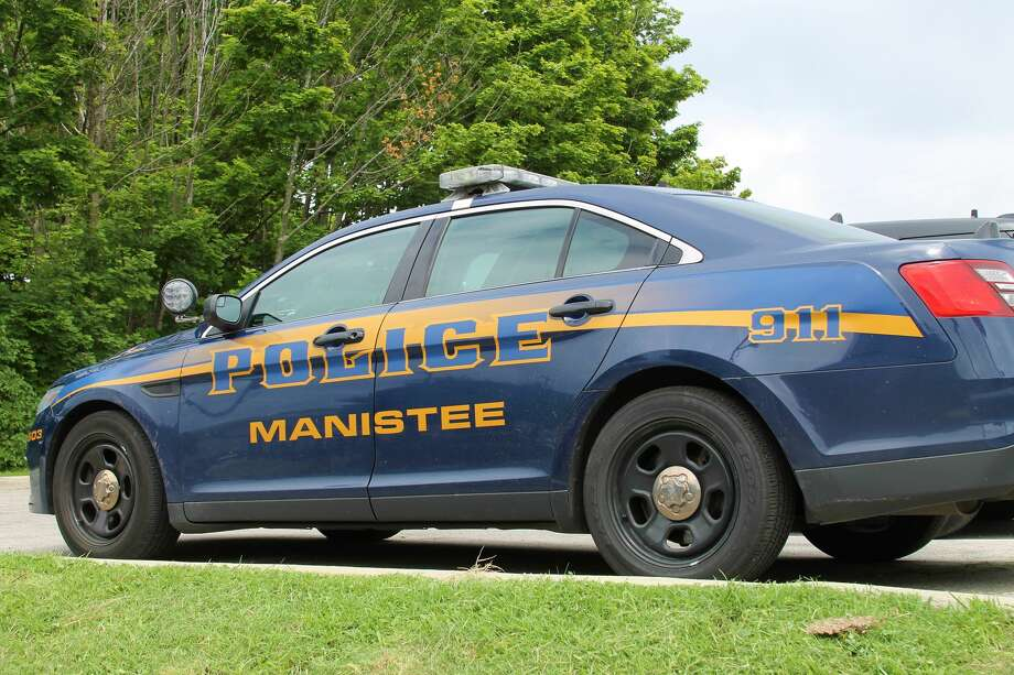A City of Manistee Police vehicle parked in downtown Manistee. (News Advocate File Photo) Photo: By Ashlyn Korienek