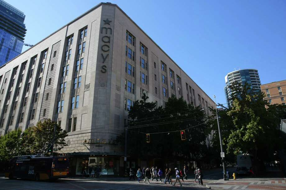 Retail giant Macy's announced last week that will be closing down its downtown Seattle store in early 2020. Photographed Sept. 30, 2019. Photo: Genna Martin, Seattlepi.com / GENNA MARTIN