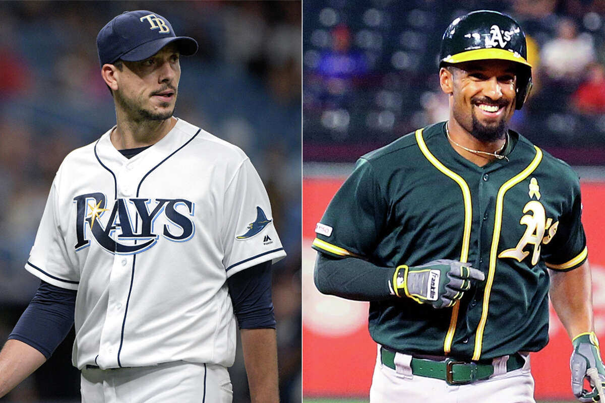 Tampa Bay's Charlie Morton and Oakland's Marcus Semien will battle in Wednesday's wild-card game as their teams vie for the berth in the ALDS against the Astros.