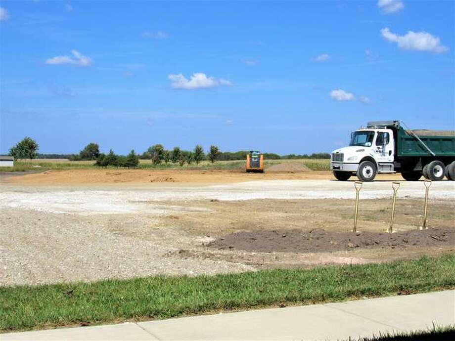 Work has begun on the Hawthorne Inn, an $11 million, 45,131-square-foot assisted/independent living facility that will become part of Liberty Village in Jerseyville. Construction