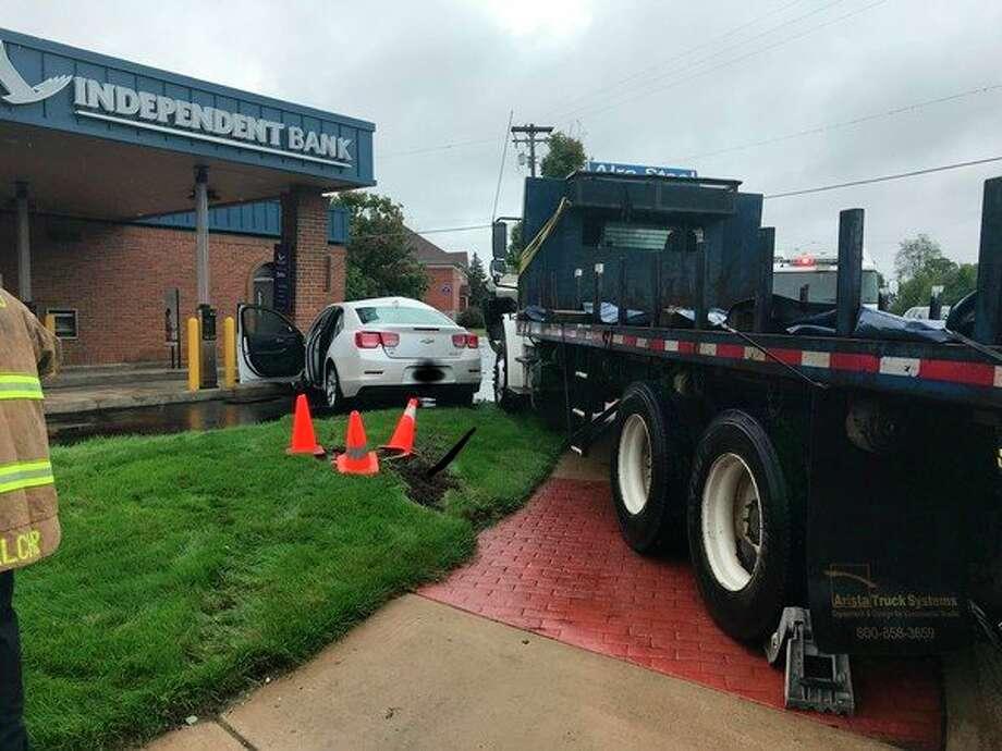 Police are investigating afatal crash in GrandTraverseCounty which occurredaround12:05 p.m. today. (Courtesy Photo/MSP)