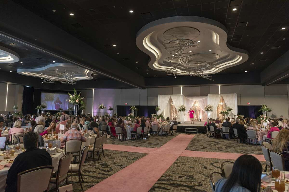 Pink the Basin benefit luncheon was held Tuesday, Oct. 1, 2019 at the Odessa Marriott Hotel and Conference Center.