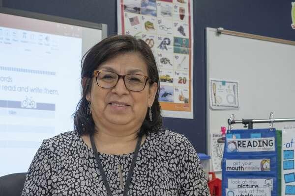 Emma Gomez, first grade reading intervention at Yarbrough Elementary. 09/30/19 Tim Fischer/Reporter-Telegram