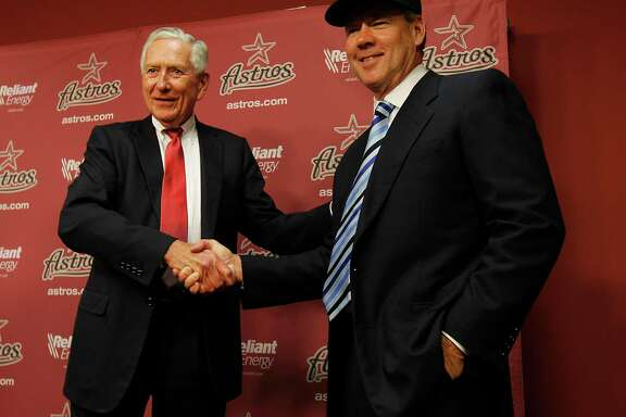 Drayton McLane and Jim Crane were on the same page when the sale of the Astros was announced in May of 2011.