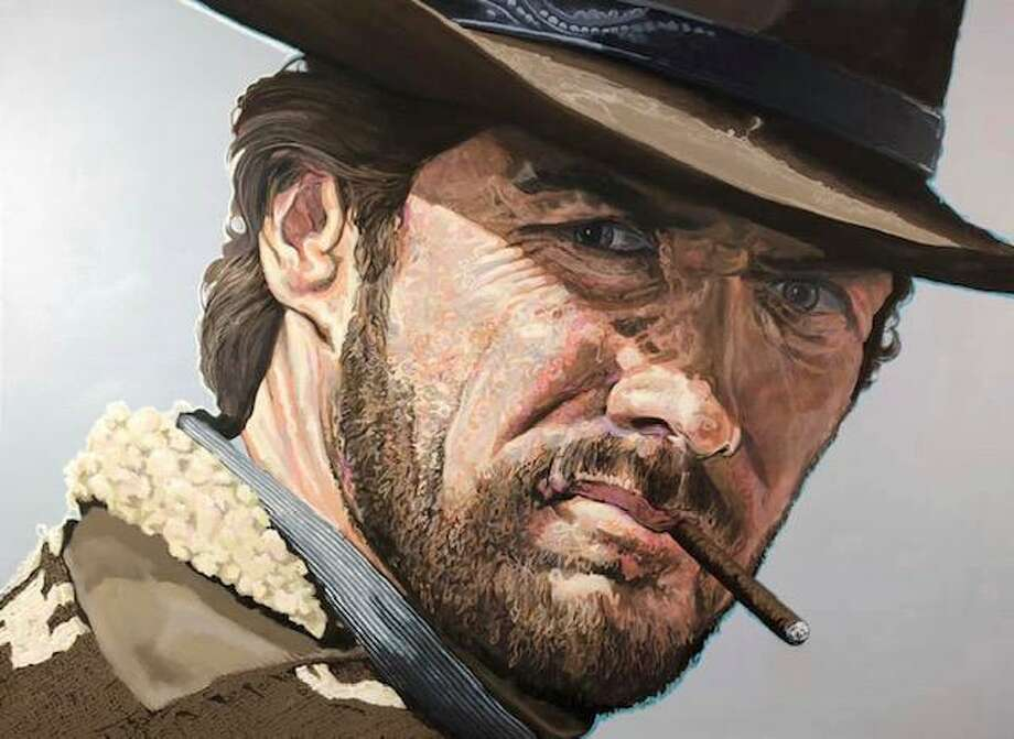 """Michael Wagner's """"Clint as Manco in A Few Dollars More."""" Photo: LAA / Contributed Photo"""