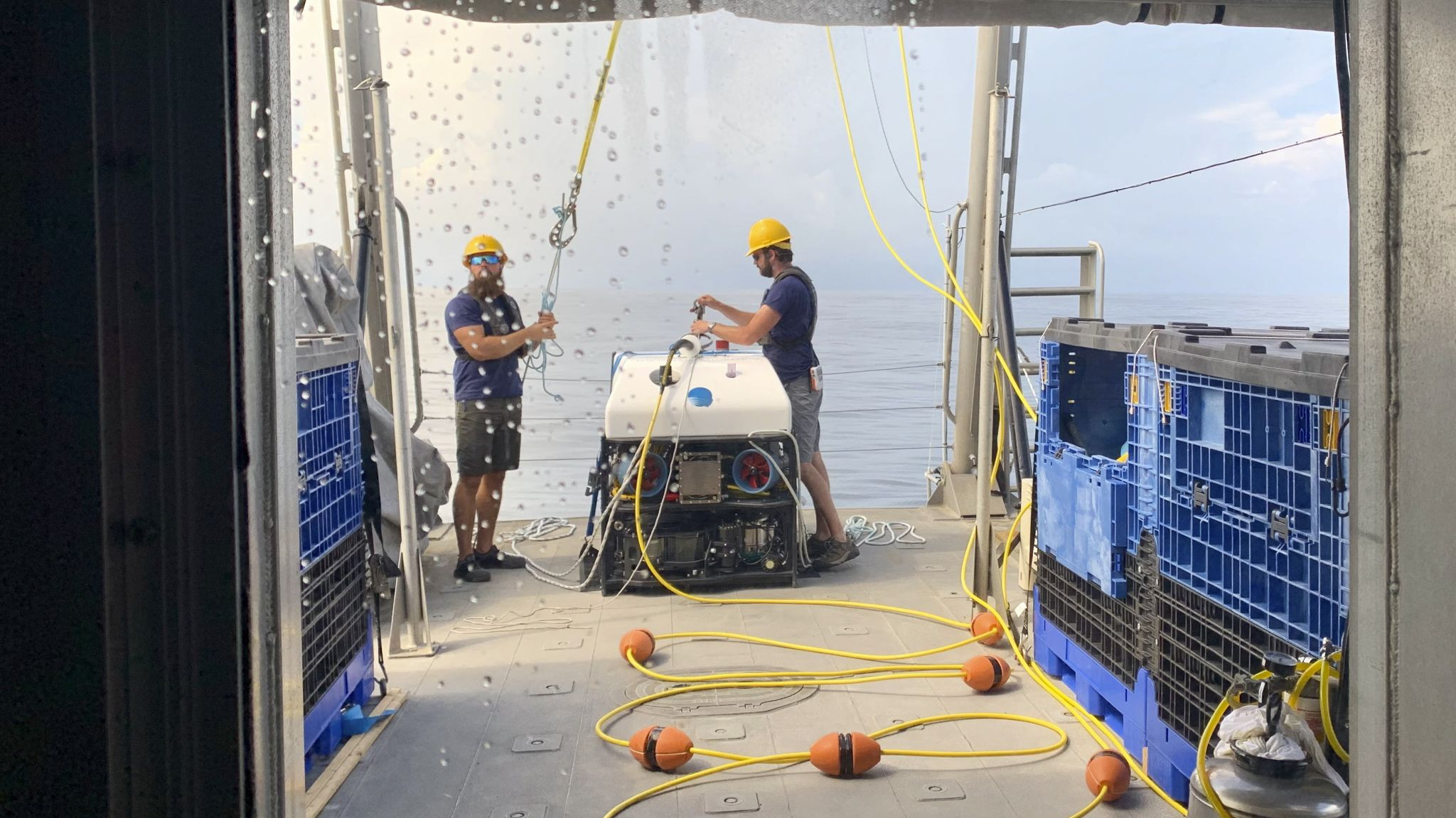 Broadcasting the Ocean's Depths: Search for coral involves high-tech imaging, lots of coffee - Houston Chronicle