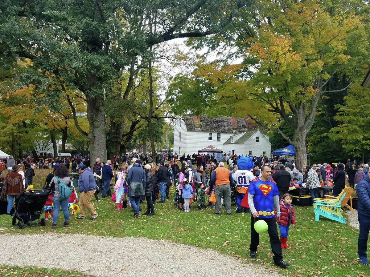 Families are invited to come in costume to the Museum Commons behind the Fairfield Museum & History Center for Halloween on the Green, a day of free, spooky fun on October 27.