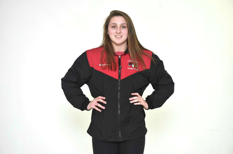 New Haven, Connecticut - Tuesday, December 4, 2018: All-Area Swimming: Nora Bergstrom, Cheshire H.S. Photo: Peter Hvizdak / Hearst Connecticut Media / New Haven Register