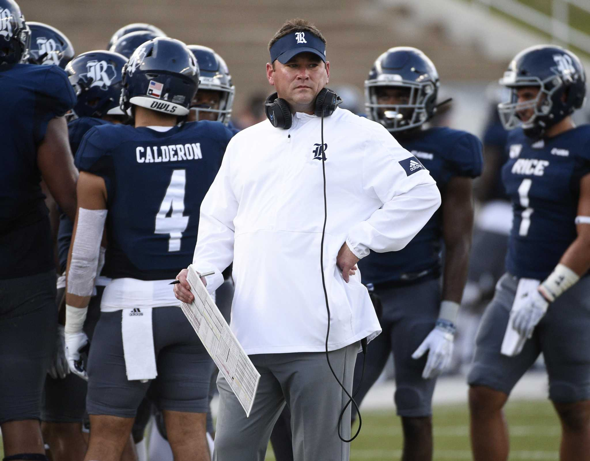 Rice Coach Mike Bloomgren Reflects On Missed Chances Vs La Tech Houstonchronicle Com