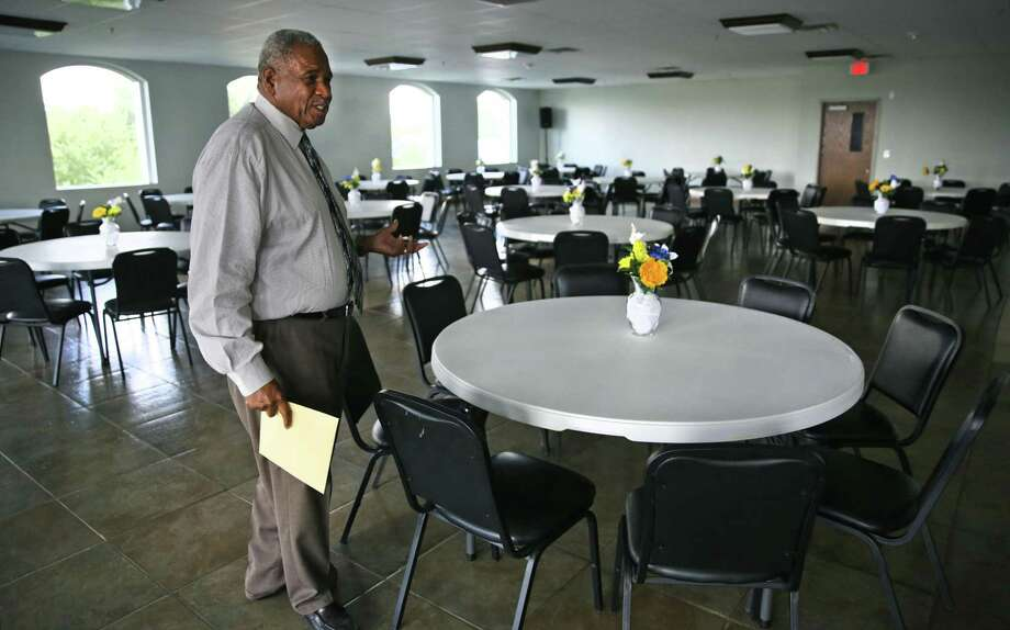 Rev. Robert Jemerson, pastor of Second Baptist Church, has defended the church's decsion to lease space to VisionQuest, a for-profit company operating shelters for unaccompanied migrant children. A reader has expressed concern about profits being tied to the detention of children. Photo: BOB OWEN /Staff Photographer / ©2019 San Antonio Express-News