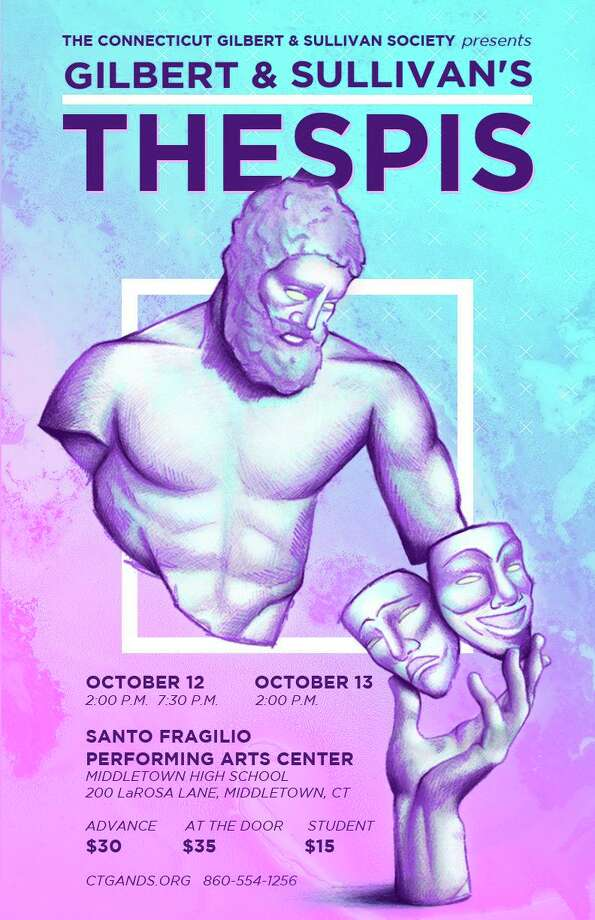 The Connecticut Gilbert and Sullivan Society is presenting the operetta Thespis at Middletown High School on October 12 and 13. Photo: Contributed Photo