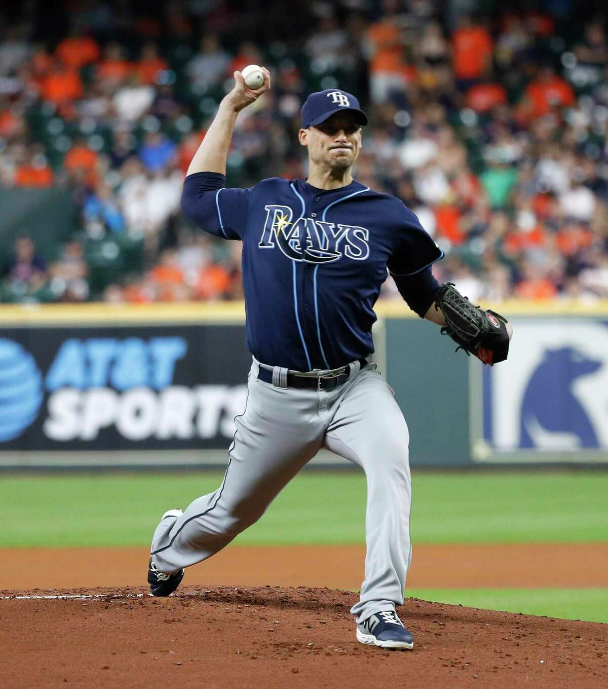 Righthander Charlie Morton played a key role in the Astros' run to the 2017 World Series title, and the Rays hope he can help start their postseason run off on the right foot when he takes the mound Wednesday night.