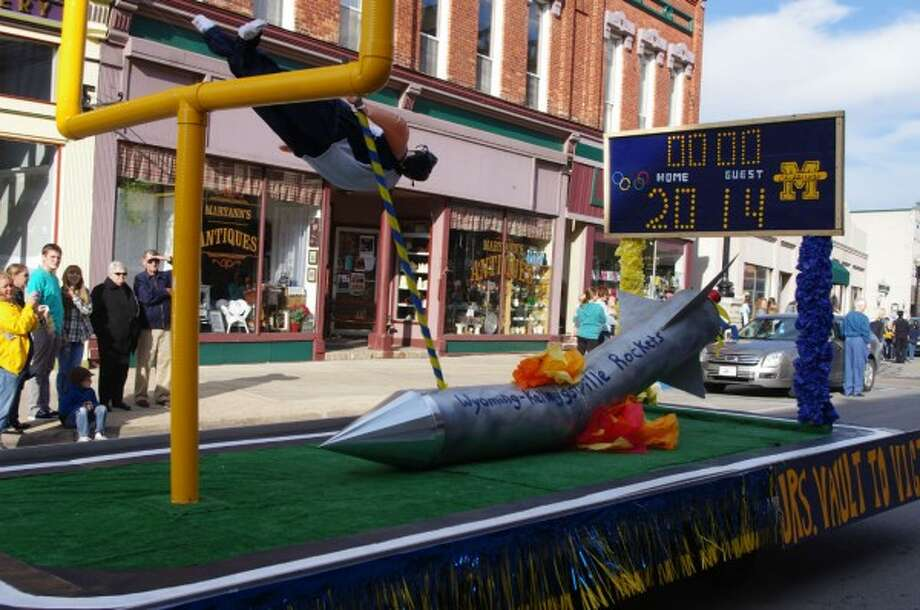Homecoming parades and dances of past years will be absent from this year's homecoming festivities, but Manistee County schools are doing what they can to create a special experience for students. (File photo)