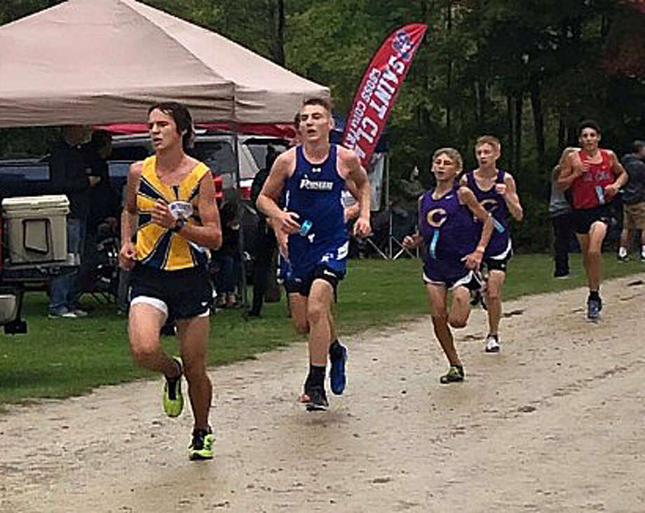 Cross country athletes compete at the Wagener Park Invitational in Harbor Beach on Sept. 28. Photo: Contributed/Tracie Kent