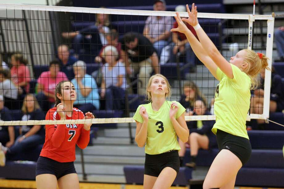The USA Patriots picked up a straight set sweep of Bad Axe on Tuesday, Oct. 1. Photo: Eric Rutter / Huron Daily Tribune
