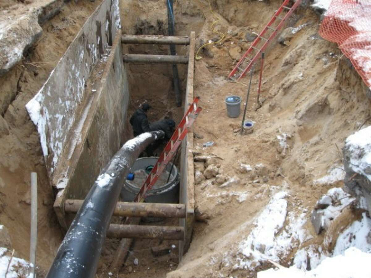 Orchard Beach State Park will have new sewer lines after a renovation project at the park is complete in May. (Courtesy photo)
