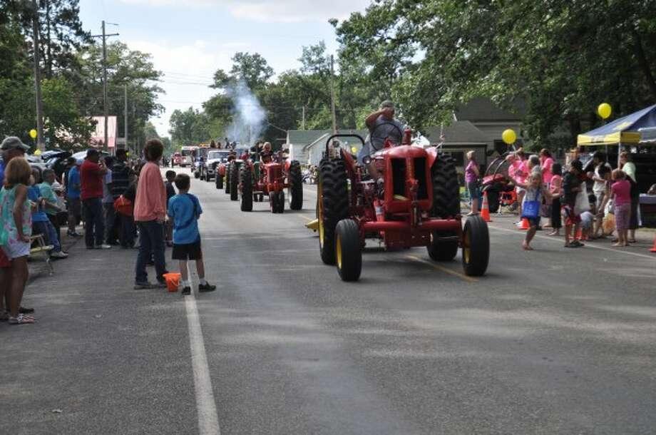 The Brethren Days Grand Parade was held at 4 p.m. on Sunday under sunny skies in Brethren.