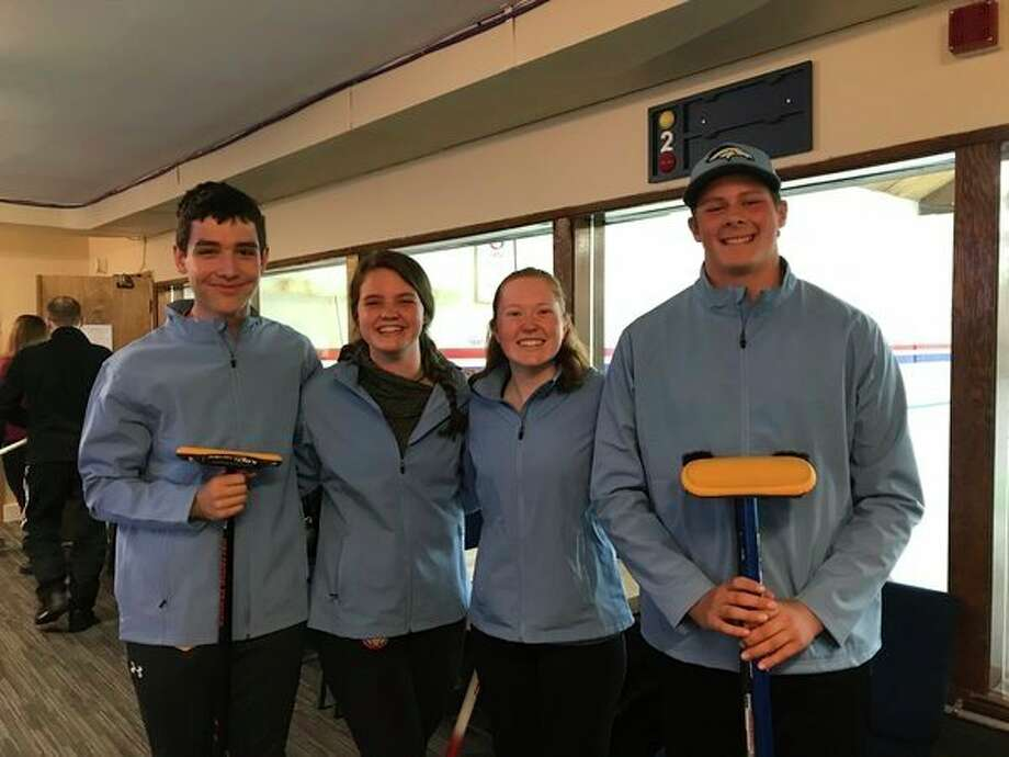 Team Kauffman includes (from left) Midlanders Nick Soto and Rese Elza, along with Arianna Rauliuk and Connor Kauffman. (Photo provided)