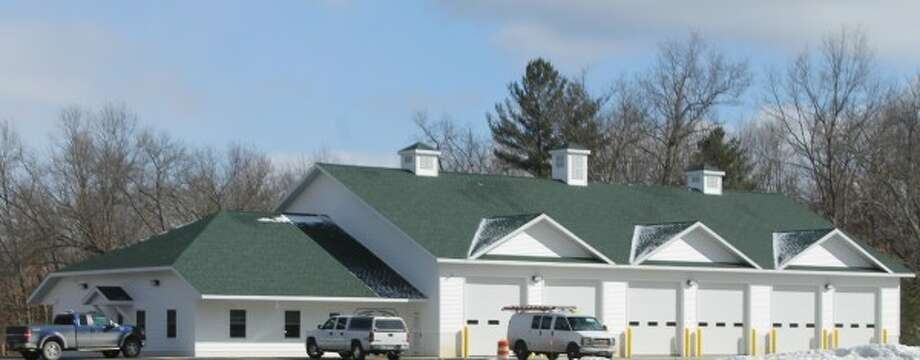 The new 8,000-square-foot Norman Township Fire Station stands proud on Seaman Road in Wellston.