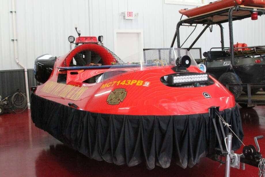 Norman Township Fire Department's hovercraft was purchased by a grant from the Manistee County Revenue Sharing Board in 2012. The hovercraft is available for use to any department in the county.
