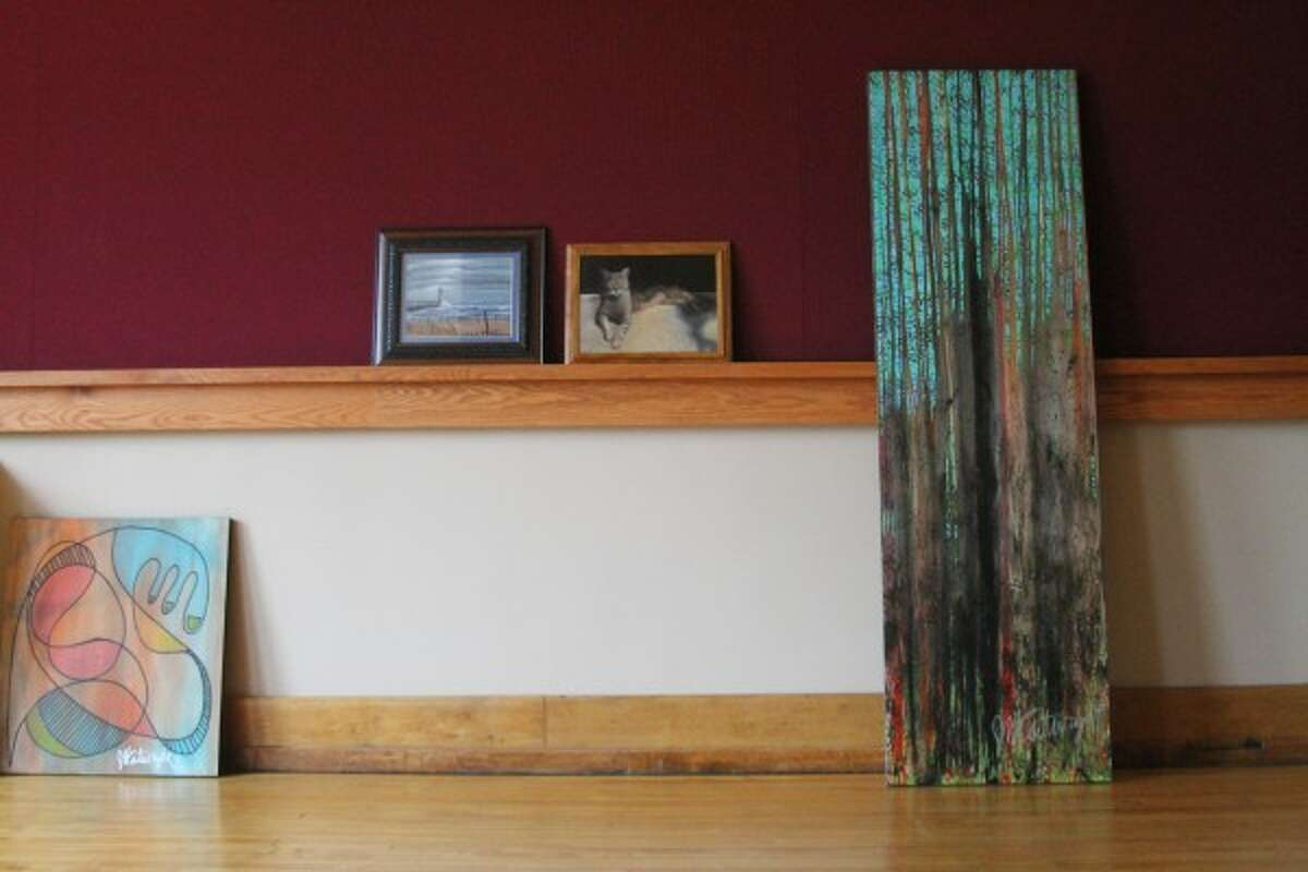The Manistee Art Institute took submissions for the institute's