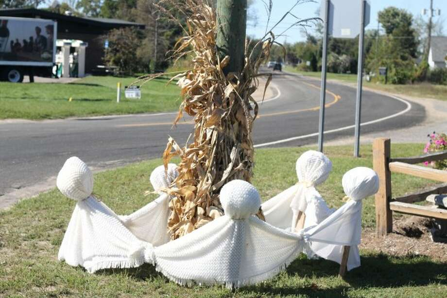 The spirit of fall was in the air this week as Bear Lake looked set to host Saturday's Autumn Glory Day event with its Halloween-themed decor displayed throughout the village. (Dylan Savela/News Advocate)