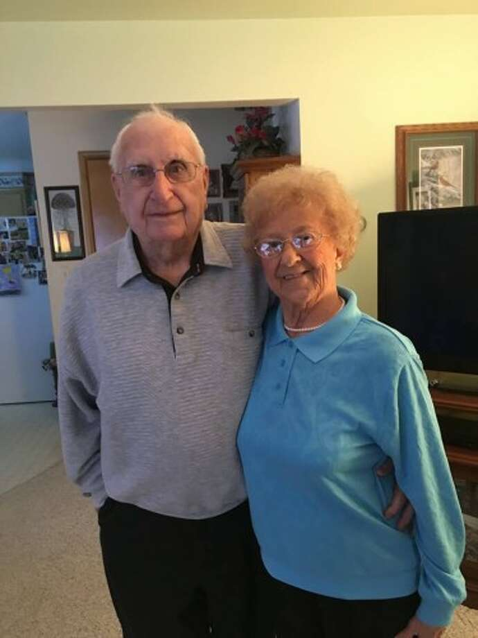 Ralph and Ceil Krusniak celebrated their 65th wedding anniversary earlier this month. (Dylan Savela/News Advocate)