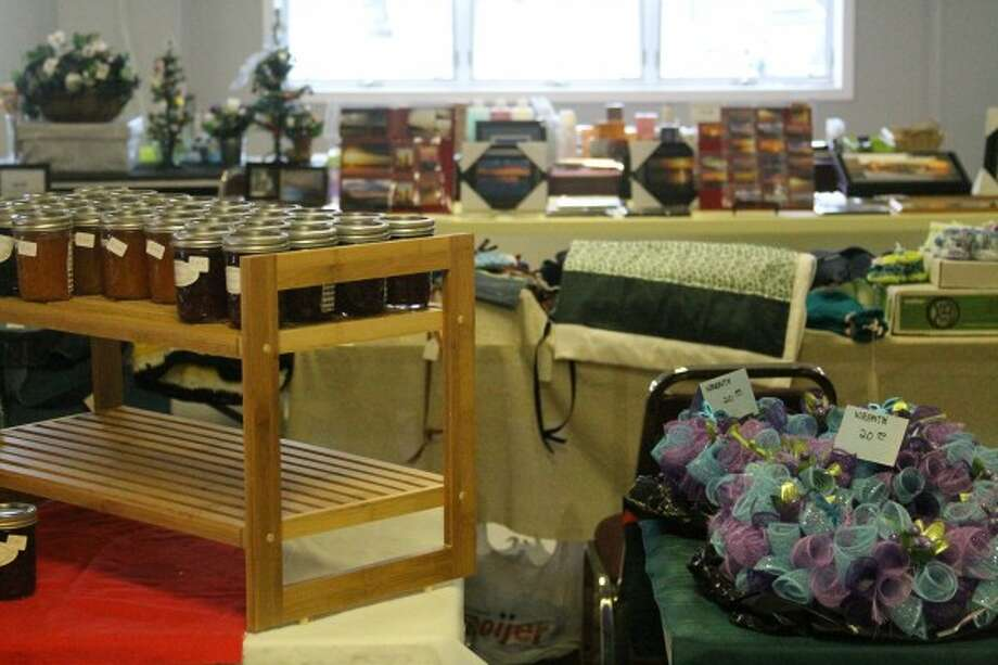 Items from jewelry, photography, quilts and more were on sale. (Sean Bradley/News Advocate)