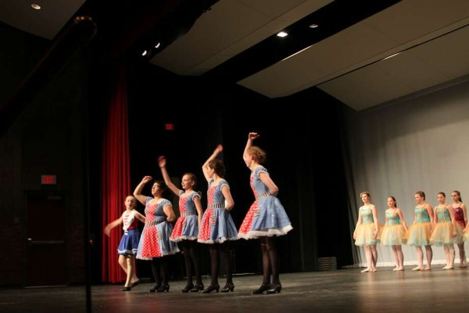 Students from Dance Alliance North, aged four to 18, participate in the school's annual spring performance, including three high school seniors from Manistee and Mason counties performing solos. (Sean Bradley/News Advocate)