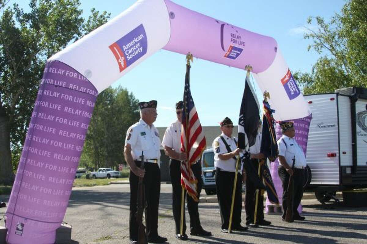 The annual Manistee County Relay for Life was held from Saturday morning to Sunday morning over the weekend. The event had a new location this year: the First Street Beach parking lot in Manistee. (Dylan Savela/News Advocate)