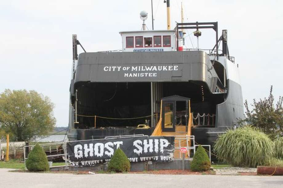 The annual Ghost Ship, held on the S.S. City of Milwaukee in Manistee, opens Friday and will run from 7:30-10:30 p.m. every Friday and Saturday throughout October.