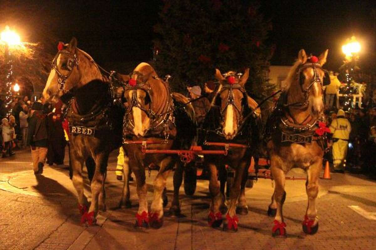 The 28th annual Victorian Sleighbell Parade and Old Christmas Weekend offered events for all ages from Thursday morning to Sunday afternoon, highlighted by Saturday's Sleighbell Parade down River Street. (News Advocate staff)