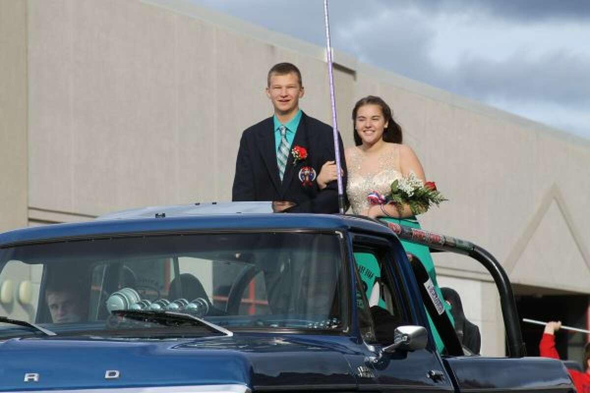 Manistee Catholic Central freshman Homecoming representatives are Natalie McClinden and Kyle Mikolajczak.