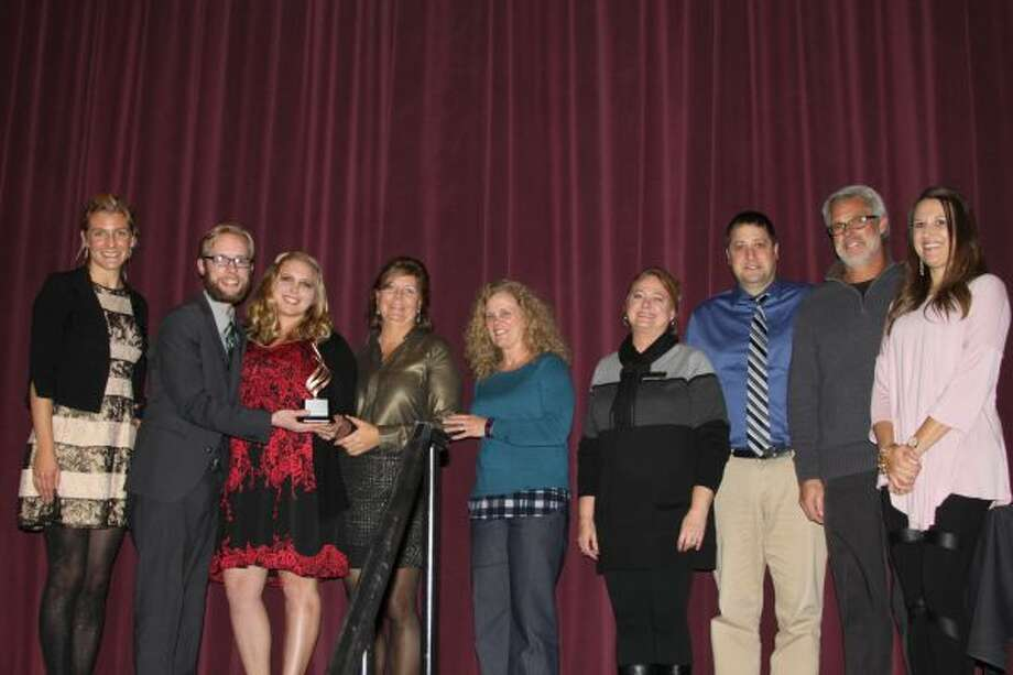 The Manistee Area Chamber of Commerce's Community Action Award was presented to Armory Youth Project. (Michelle Graves/News Advocate)