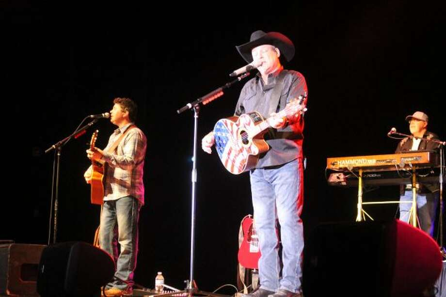 Country musician John Michael Montgomery played several of his greatest hits from the 1990s during a concert on Saturday at Little River Casino Resort. (Michelle Graves/News Advocate)