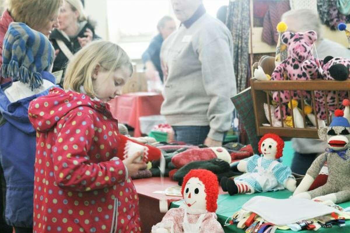 First Congregational United Church of Christ Manistee held its annual Heritage Bazaar on Saturday. (Ashlyn Korienek/News Advocate)
