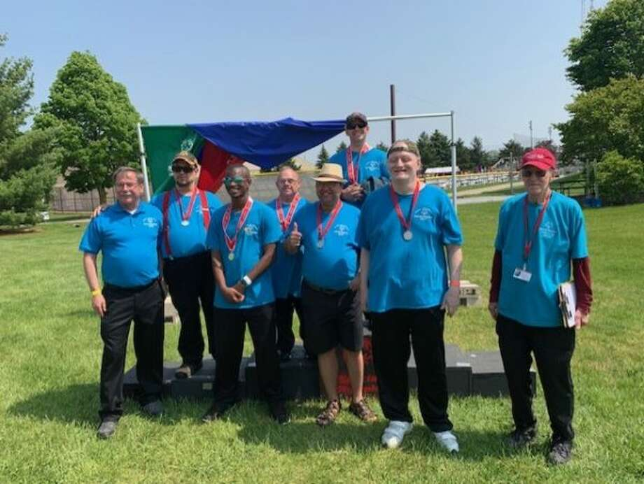 Pictured are the Area 24 Special Olympics horseshoe team members. (Courtesy Photo)