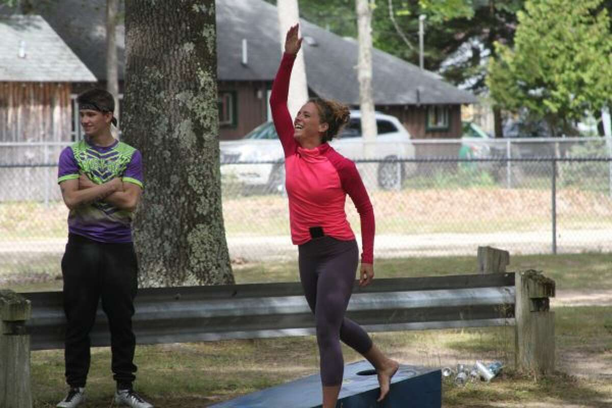 Cornhole was one of several games held at Brethren Days in 2019. Others include a co-ed softball tournament and horseshoe pitching contest. (News Advocate staff)
