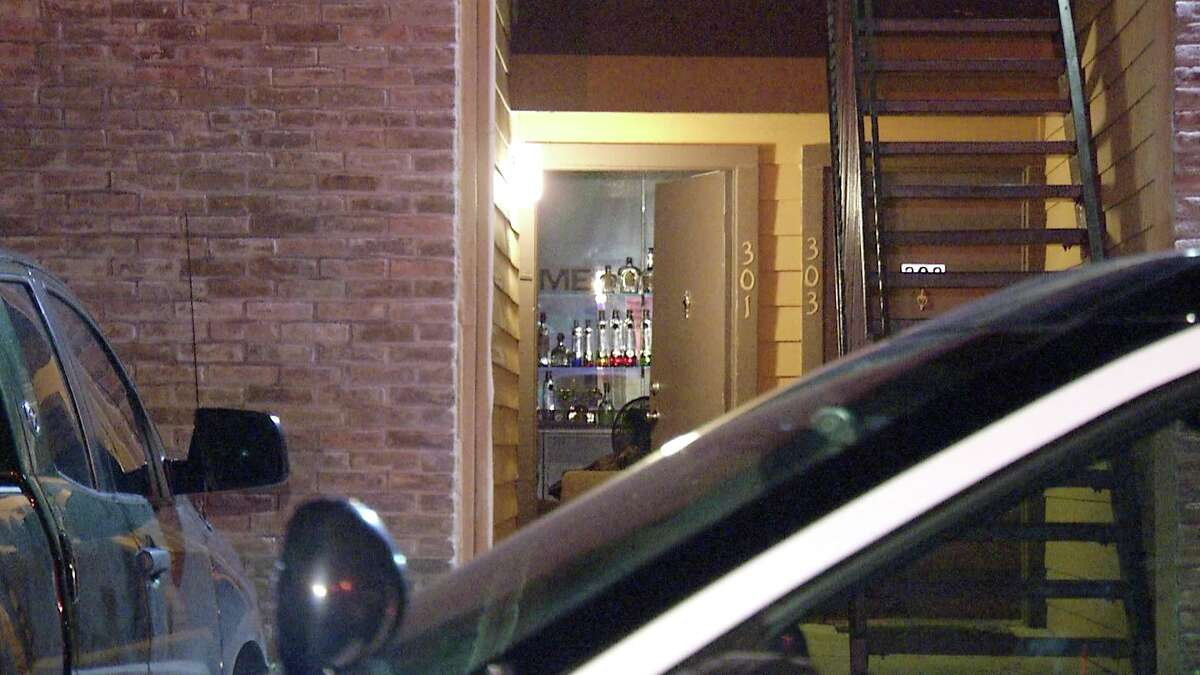 SAPD is investigating a home invasion where two men kicked open a door and fired into a residence.