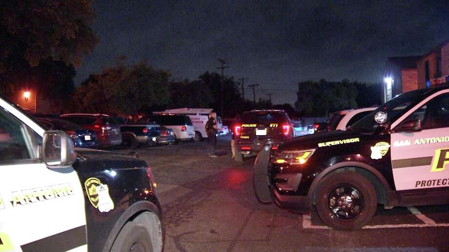 SAPD is investigating a home invasion where two men kicked open a door and fired into a residence. Photo: Ken Branca