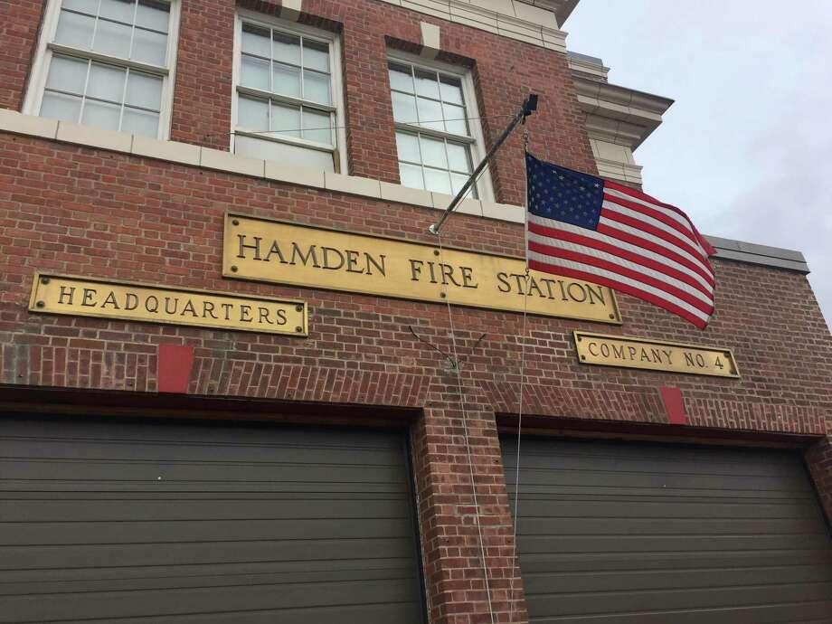 The Hamden Fire Department. Photo: Ben Lambert / Hearst Connecticut Media