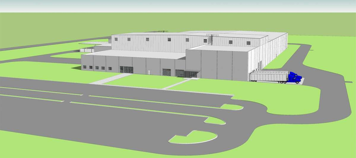 A rendering of the Continental Structural Plastics facility that will be built in Seguin. An estimated 200 new jobs will be created in Seguin by 2021.